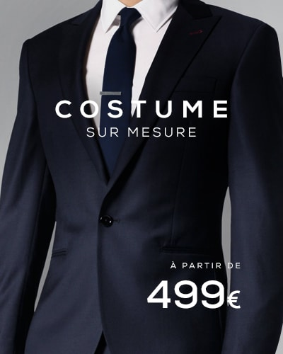 costume sur mesure Paris