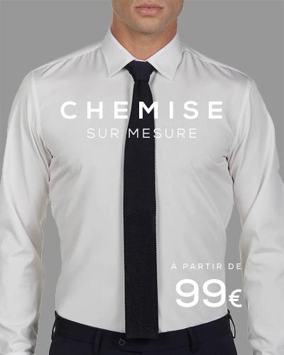 chemise sur mesure Paris
