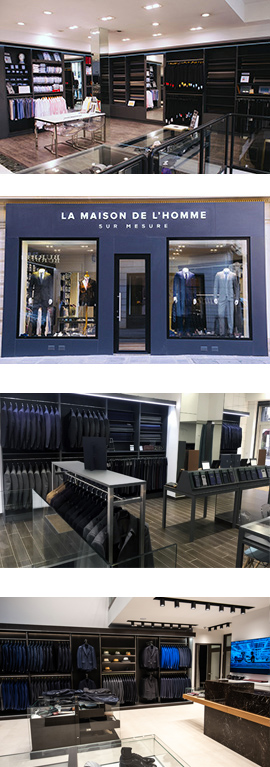 boutique sur mesure Paris