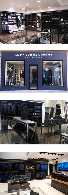 boutique sur mesure Paris
