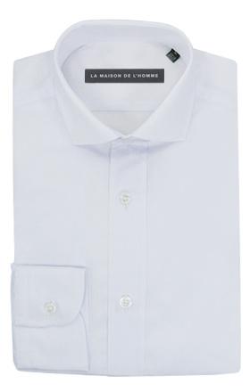 chemise demi-mesure blanche