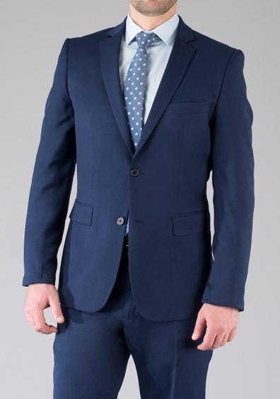 costume demi mesure bleu