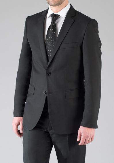 costume demi mesure noir