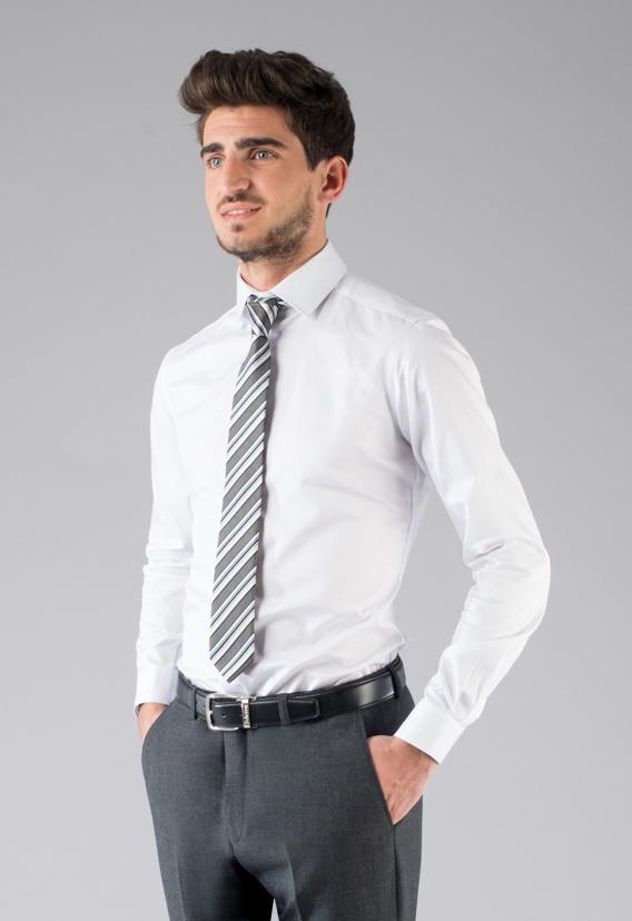 Coupon chemise sur-mesure - gamme BUSINESS - LA MAISON DE L HOMME ... 6b6e45b8de3