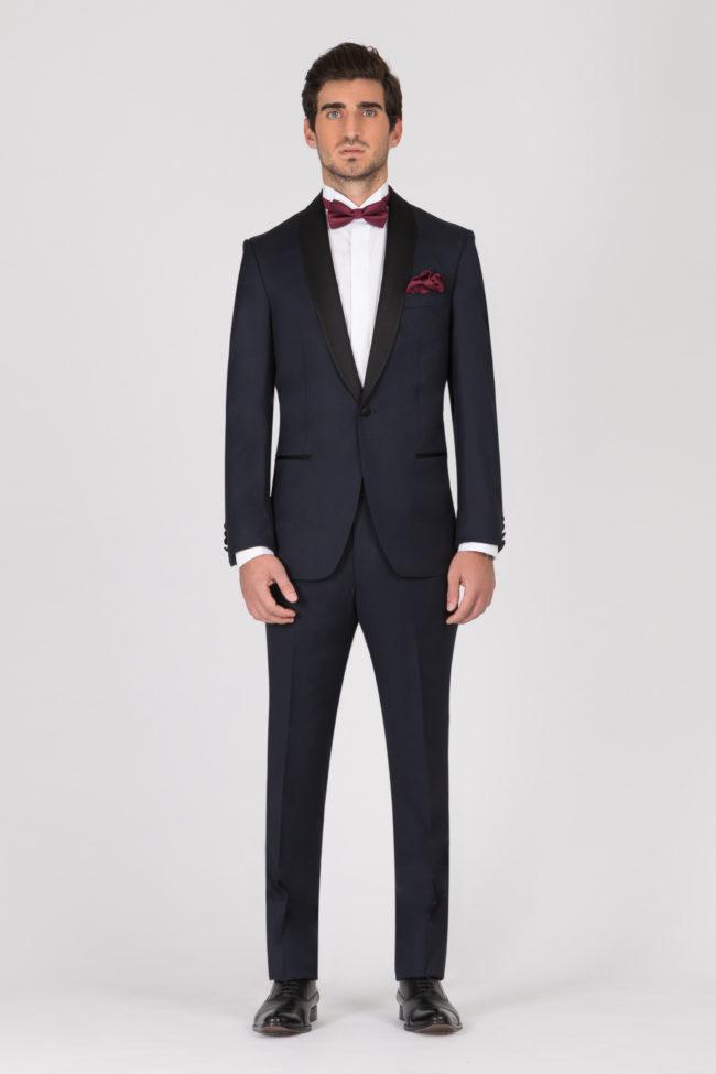 Smoking pr t porter la maison de l 39 homme costume mariage - Costume homme pret a porter ...